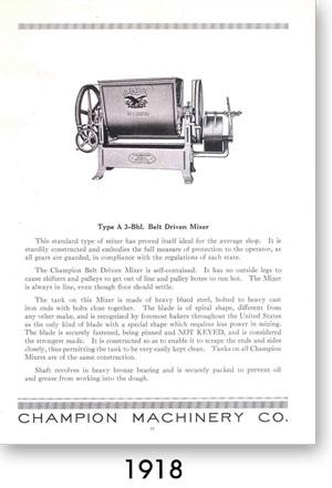 1918 mixer